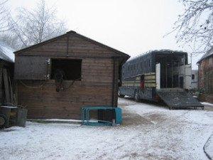 Freezing Puttenham- Loading up