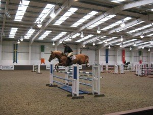 Grace on the Equine Pathway training sessions at Addington Manor held by John Ledingham