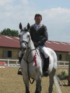 Wembley took 2nd place at HOYS Foxhunter Championship